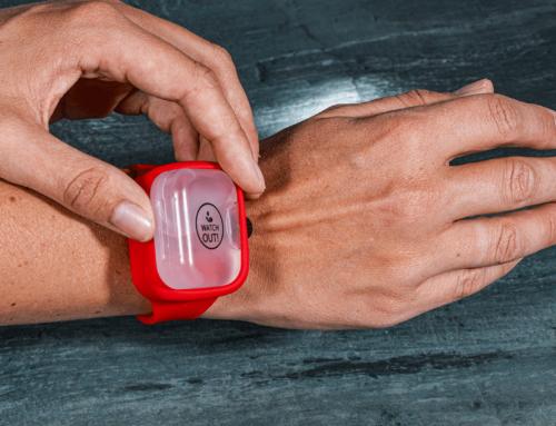 Das Desinfektionsarmband – praktische Hygiene für unterwegs